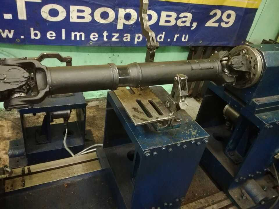 Ремонт карданного вала автомобиля Урал