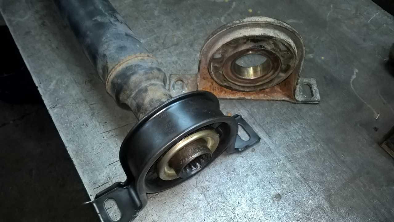Полный ремонт четырехопорного карданного вала Mercedes-Benz Sprinter