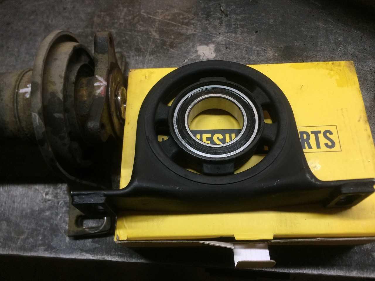 Ремонт 4-опорного карданного вала Volkswagen Crafter (изотерма).