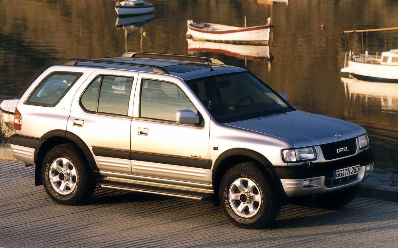Ремонт 2-опорного карданного вала автомобиля Opel Frontera.