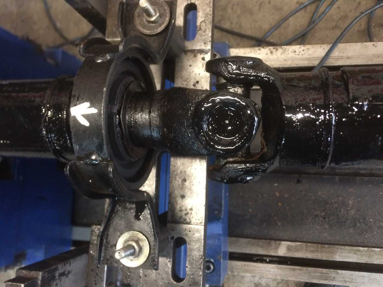 Ремонт 3-х опорного карданного вала автомобиля Chevrolet Captiva