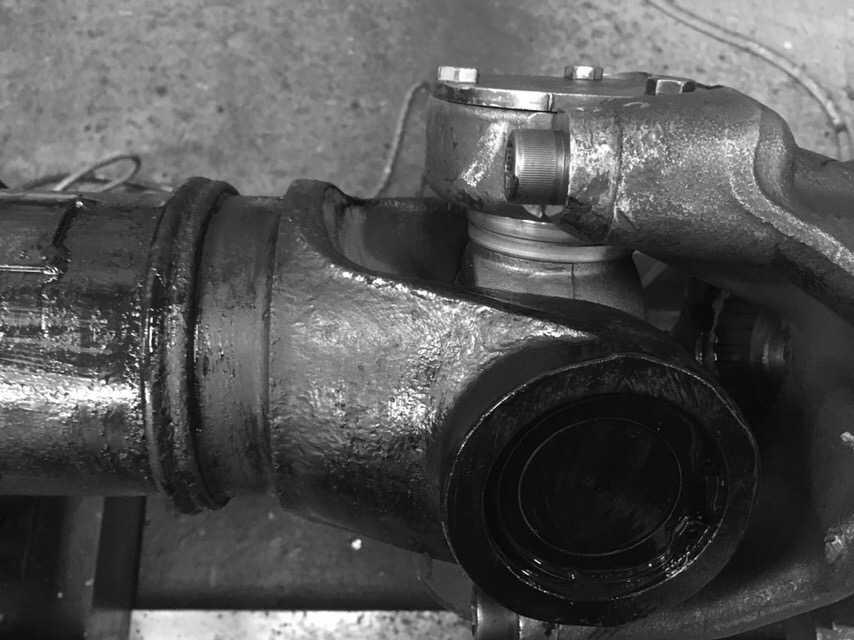 Ремонт карданного вала Скания 6х4