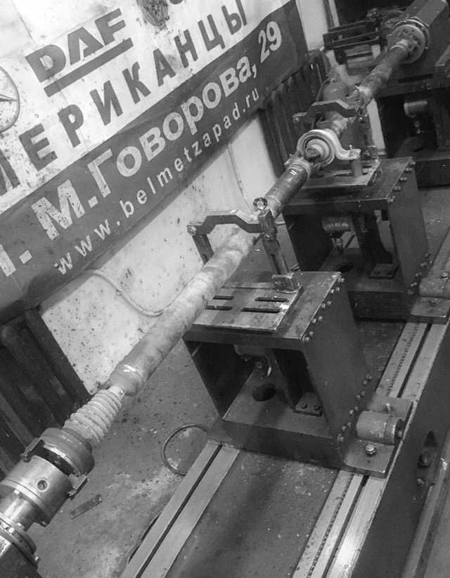 Ремонт карданного вала Шевроле Каптива