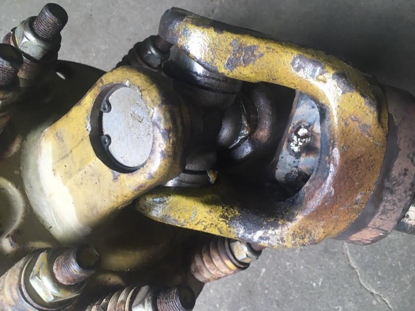 Ремонт кардана гребнеобразователя на трактор МТЗ