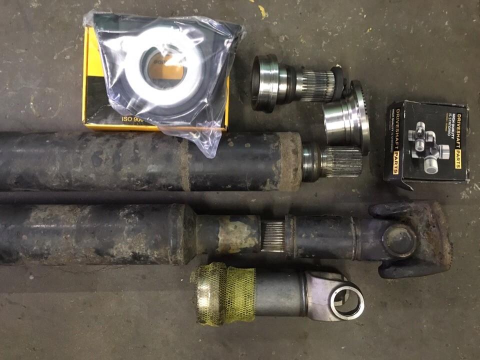 Ремонт кардана MAN Comandor f2000