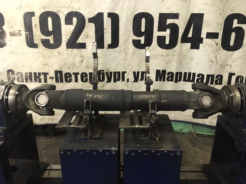 Ремонт кардана МАЗ-МАН 642268 с мостами от Ивеко