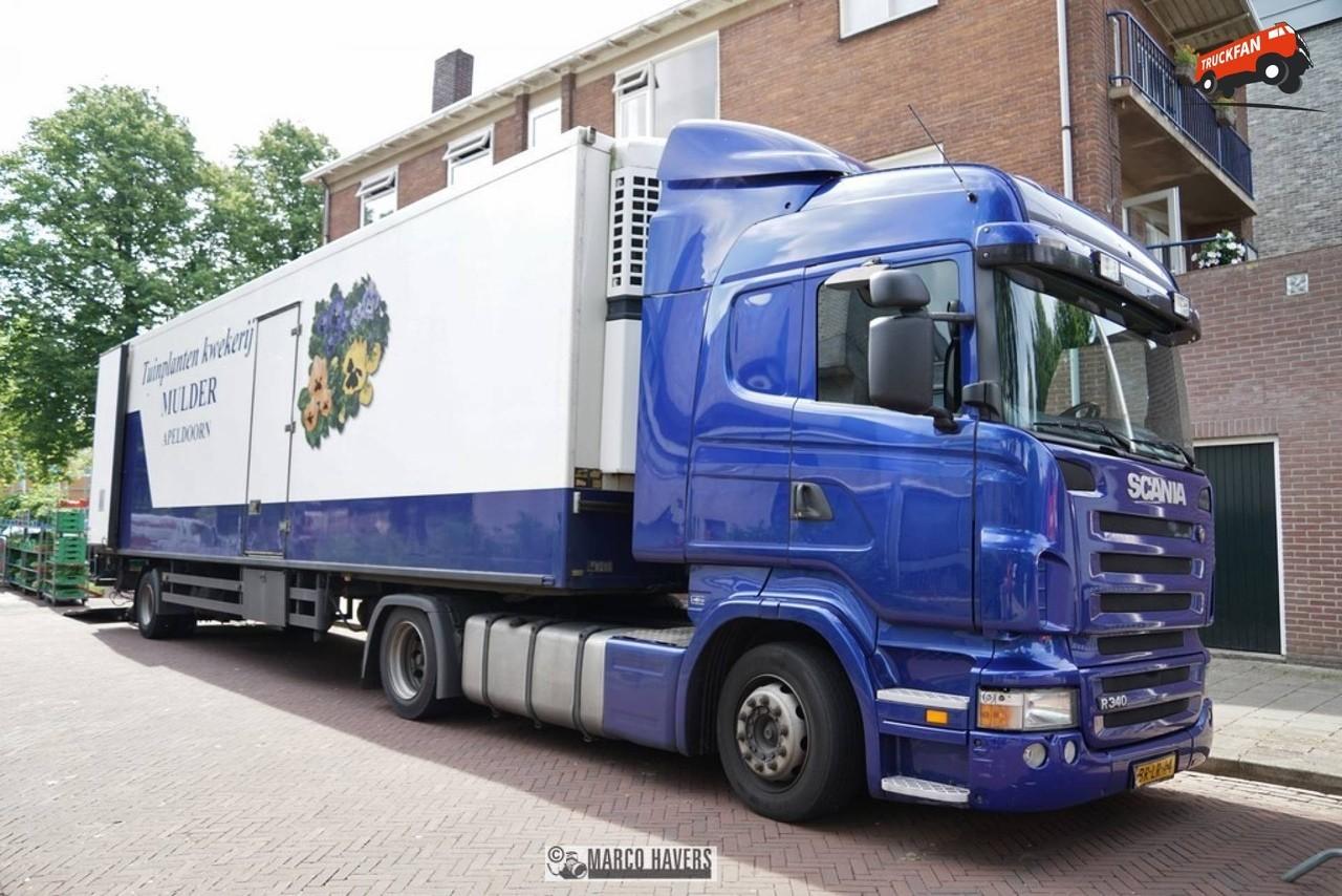 Ремонт карданного вала Scania R340