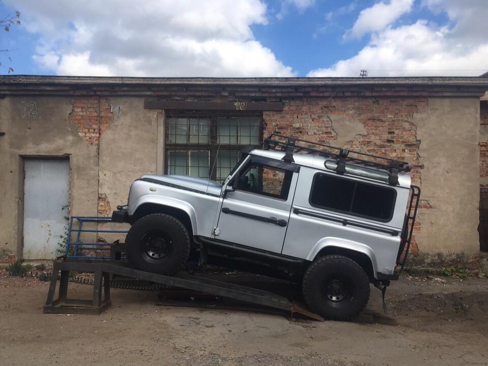 Ремонт кардана Land Rover Defender