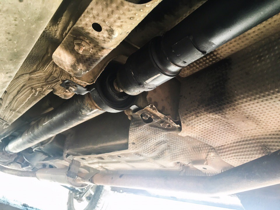Ремонт 3-х опорного кардана Renault Duster с пробегом всего в 60 тыс.км