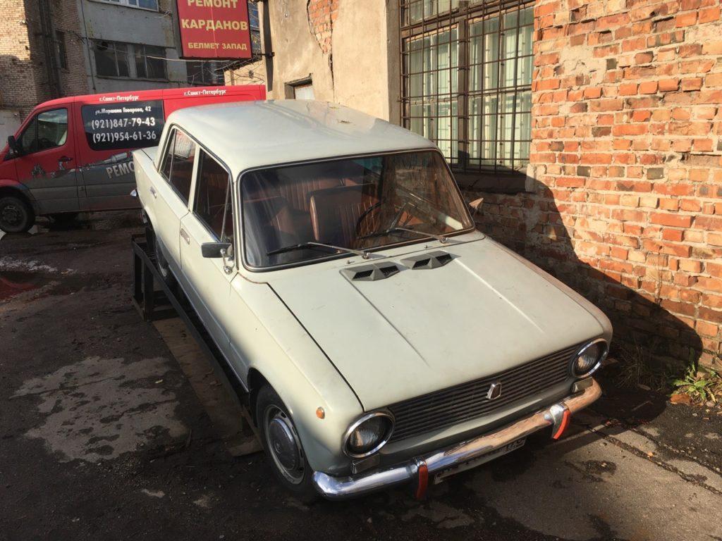 Ремонт 3-х опорного карданного вала ВАЗ 2101 1972 г.в. с пробегом 300 000 км.