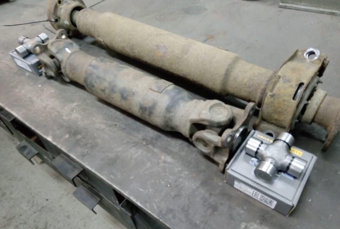 Ремонт 3-х опорного карданного вала Infiniti FX
