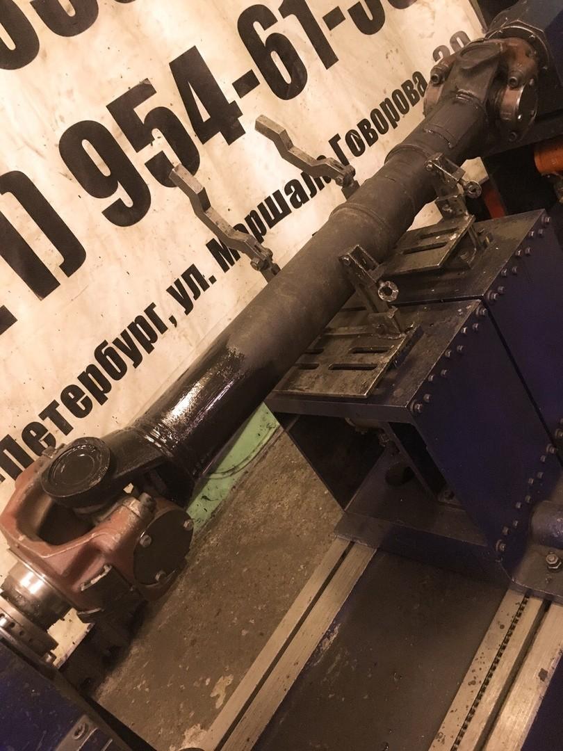 Ремонт 2-х опорного карданного вала Scania 6х4