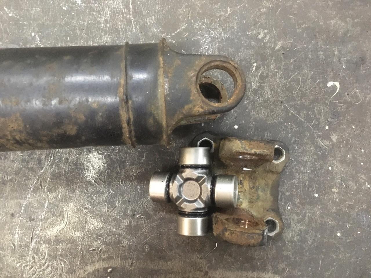 Ремонт 3-х опорного карданного вала Nissan Qashqai с переделкой узла под стопорные кольца