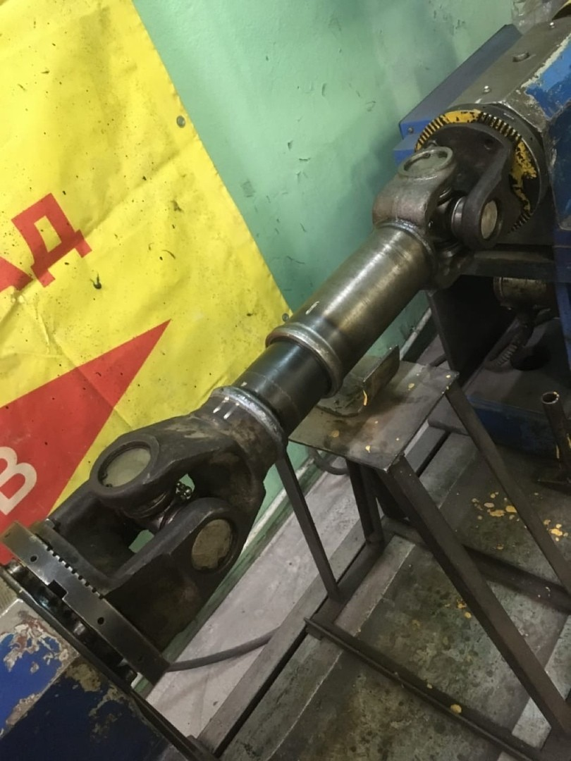 Ремонт 2-х опорного карданного вала автобуса КАвЗ