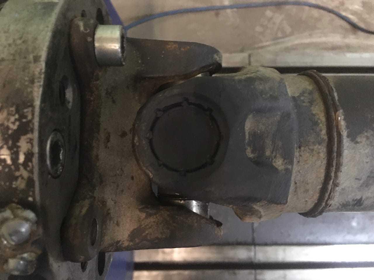 Ремонт 4-х опорного карданного вала Volkswagen Crafter