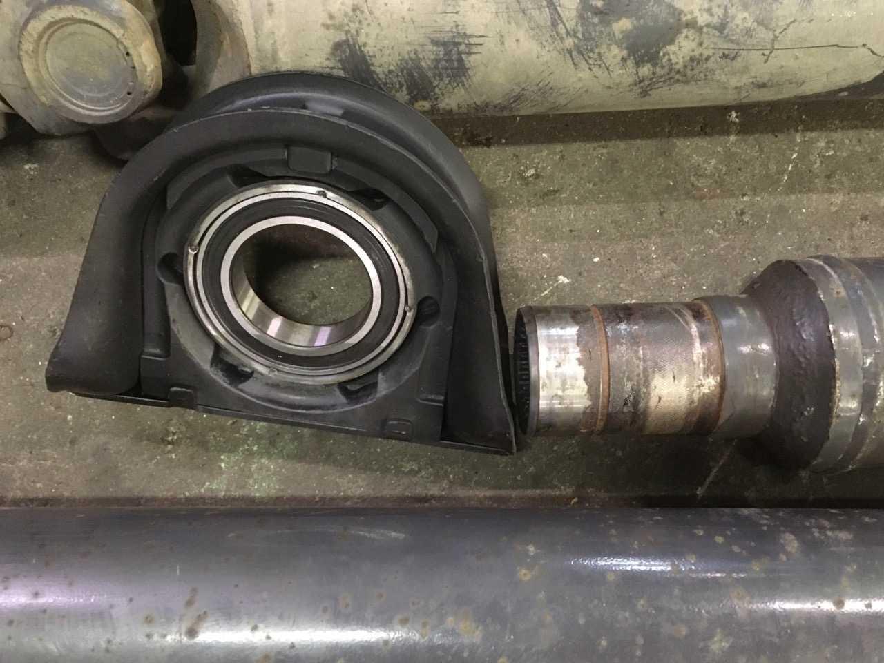 Ремонт 4-х опорного карданного вала Volvo FE