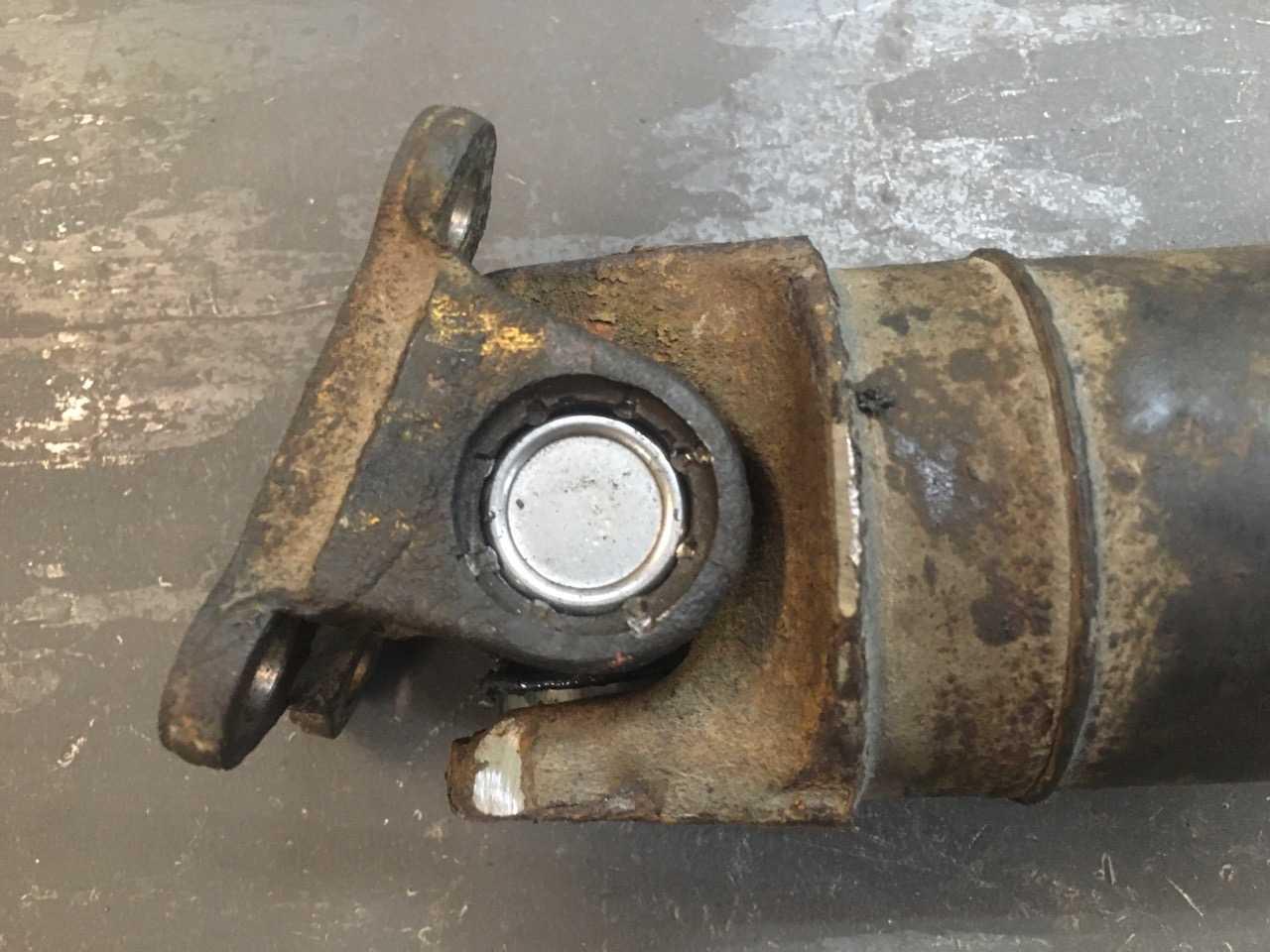 Ремонт 3-х опорного карданного вала Nissan X-Trail