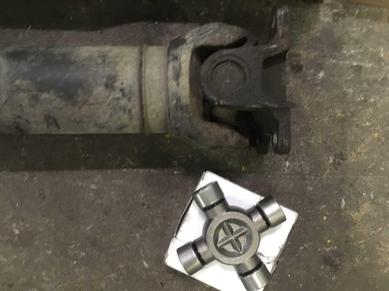 Ремонт 4-х опорного кардана Mercedes-Benz Sprinter