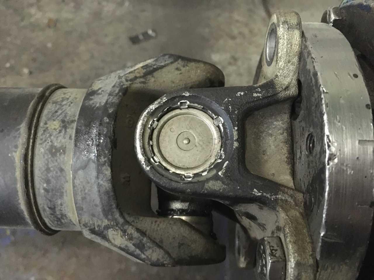 Ремонт 3-х опорного карданного вала Mercedes-Benz Sprinter