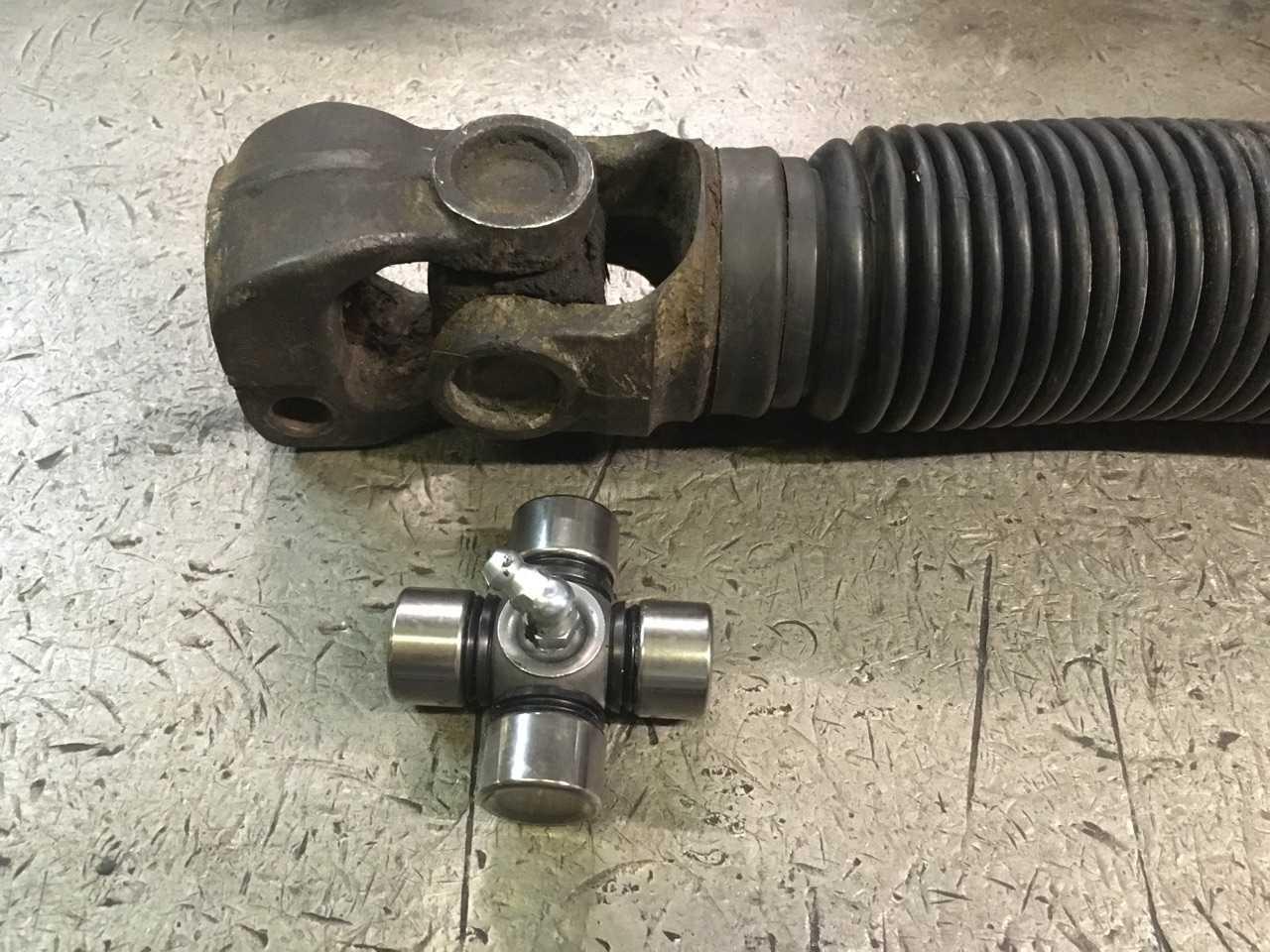 Ремонт рулевого вала Scania