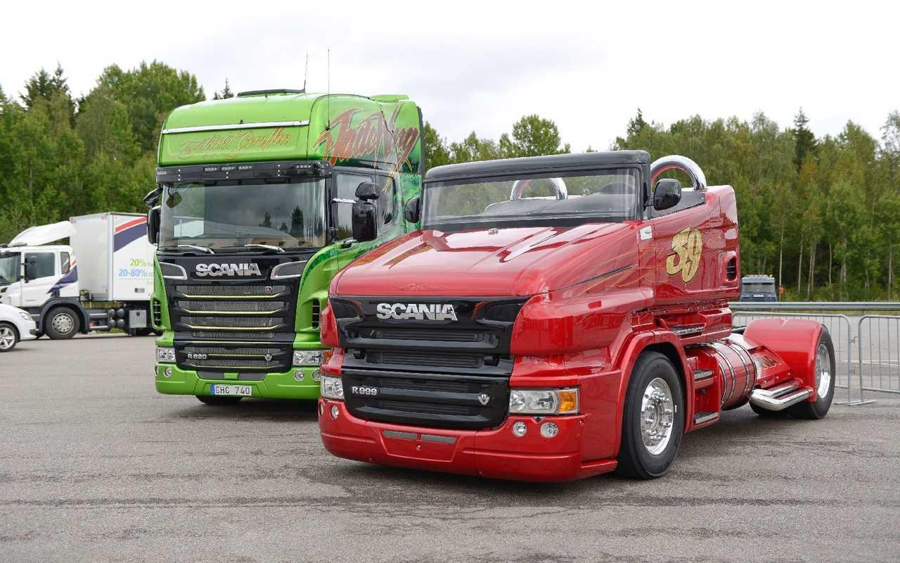 Ремонт 2-х опорного карданного вала автомобиля Scania
