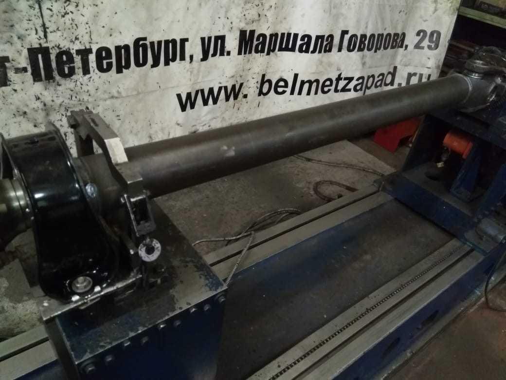 Изготовление дополнительной части карданного вала для удлинённой базы автомобиля КАМАЗ