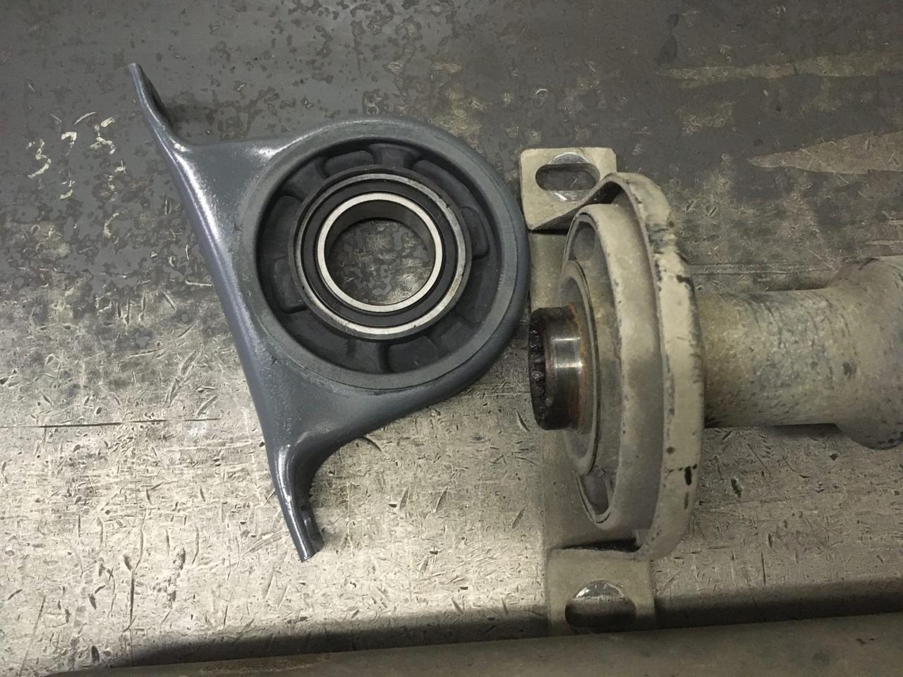 Ремонт 3-х опорного карданного вала Volkswagen Crafter