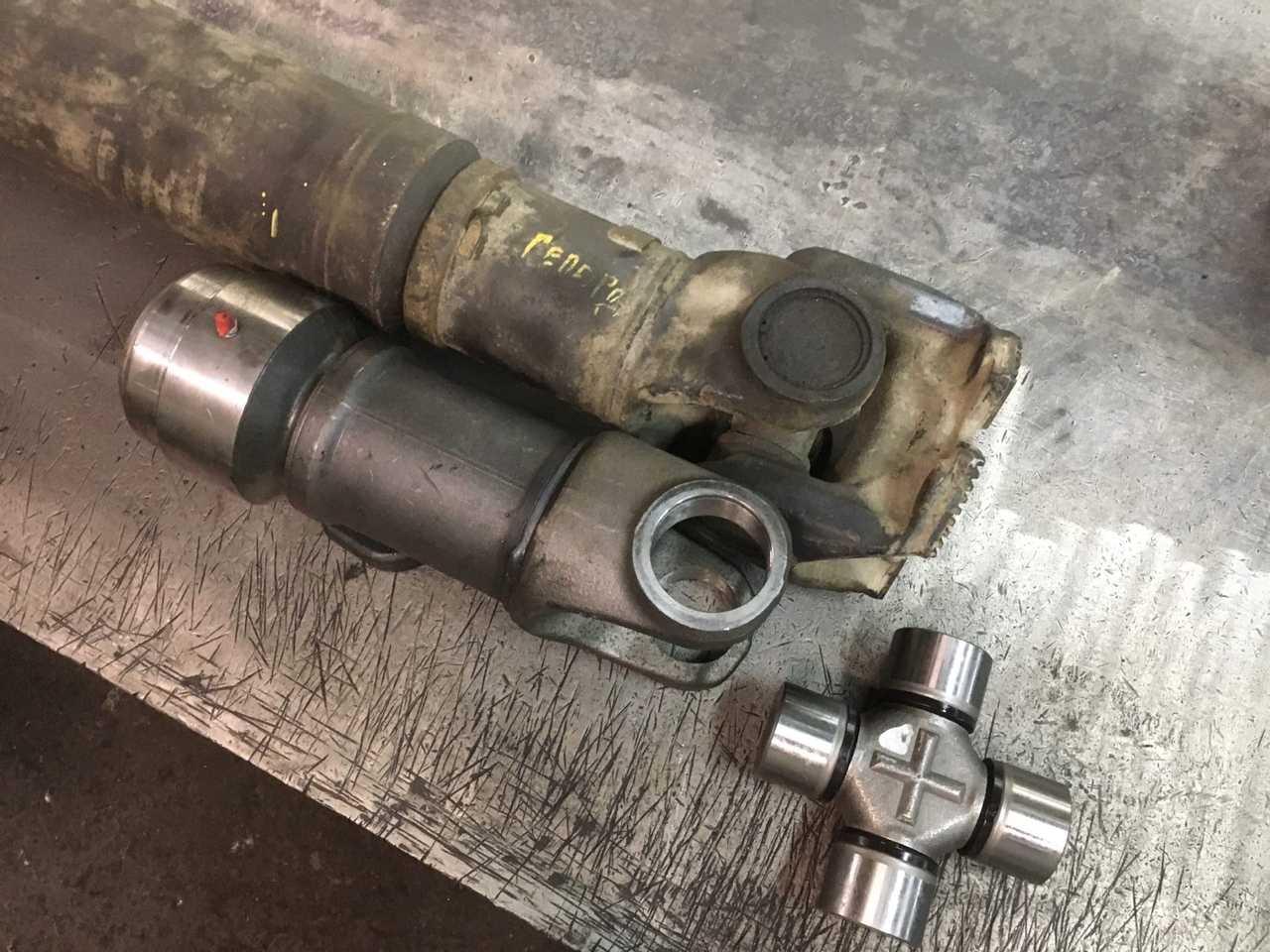 Ремонт 2-х опорного карданного вала автомобиля Volvo