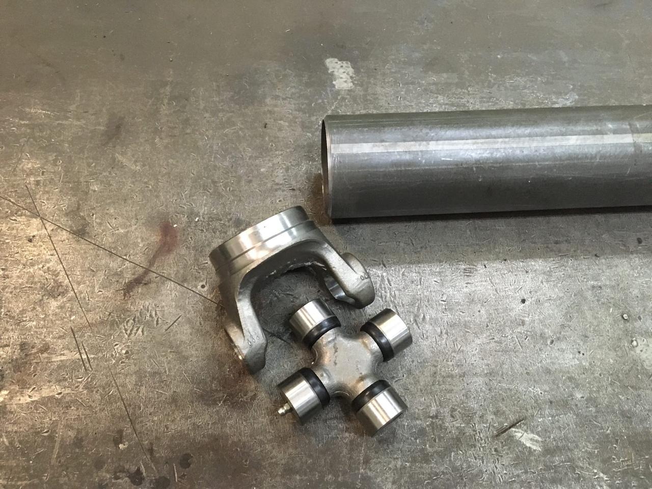 Изготовление 2-х опорного карданного вала на автомобиль Dodge Charger