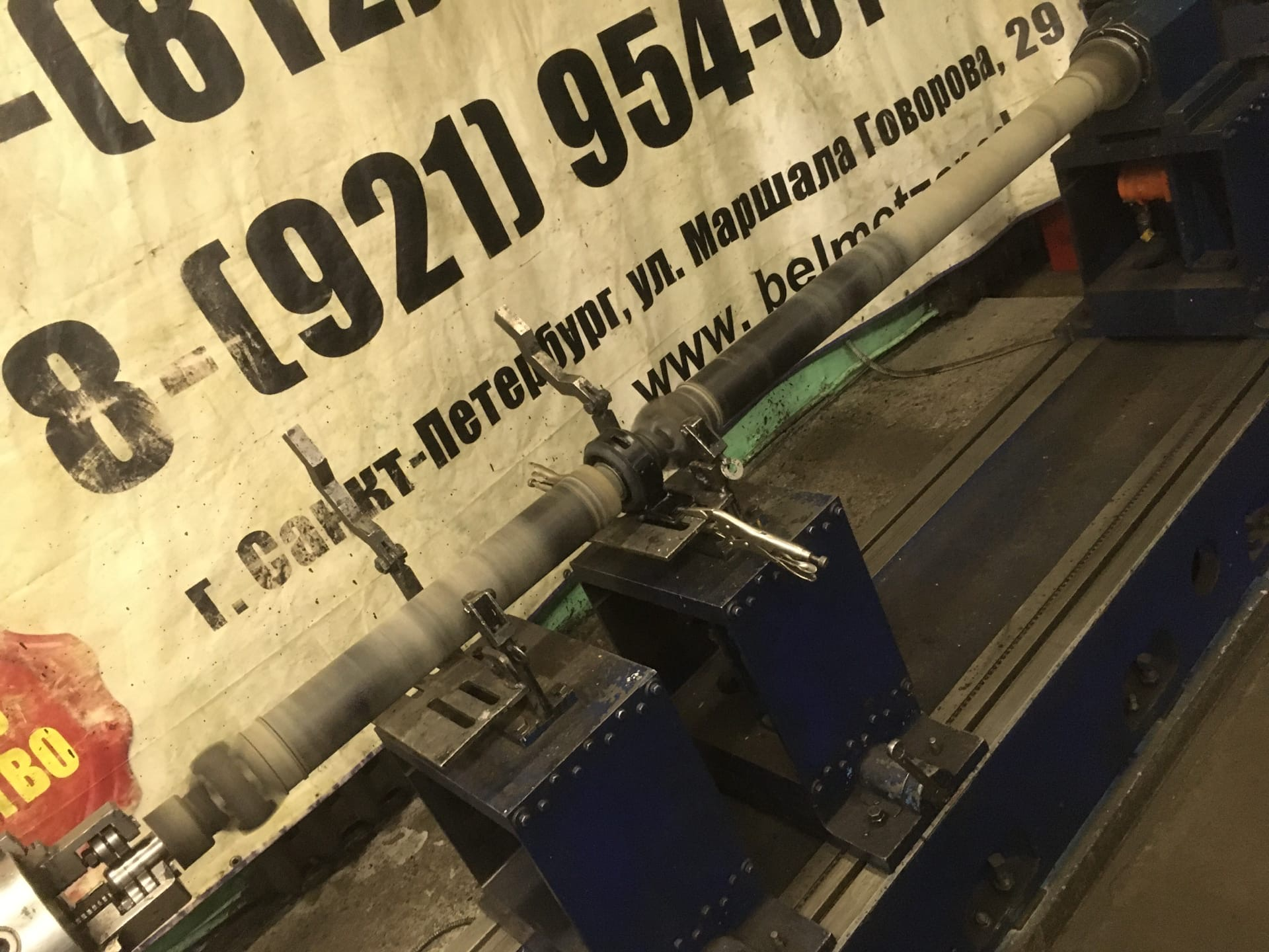 Ремонт 3-х опорного карданного вала автомобиля ГАЗель Next