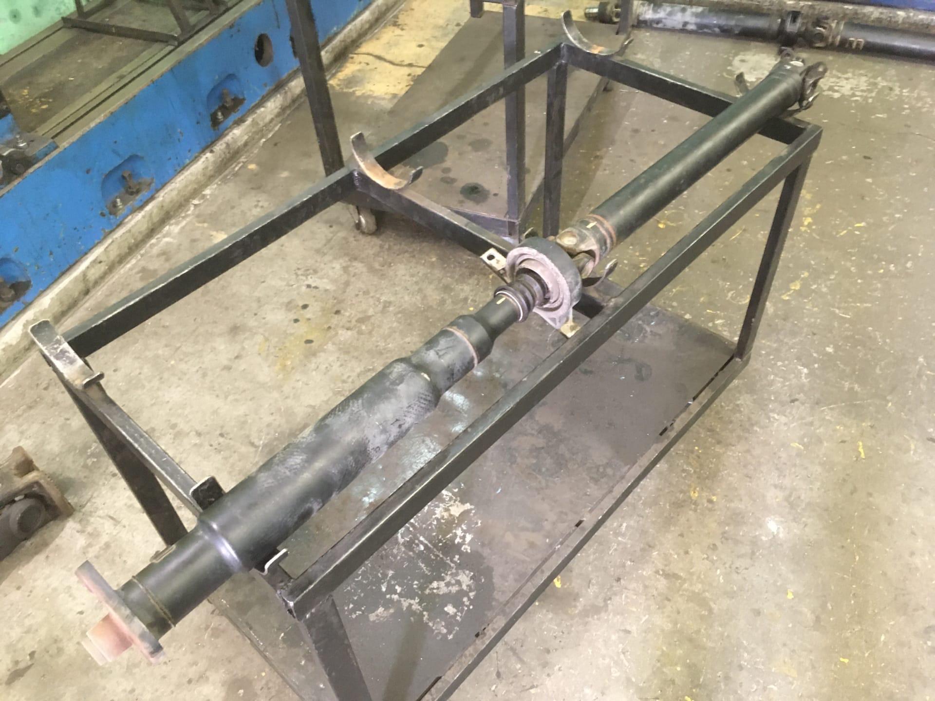 Ремонт 3-х опорного карданного вала автомобиля BMW X3