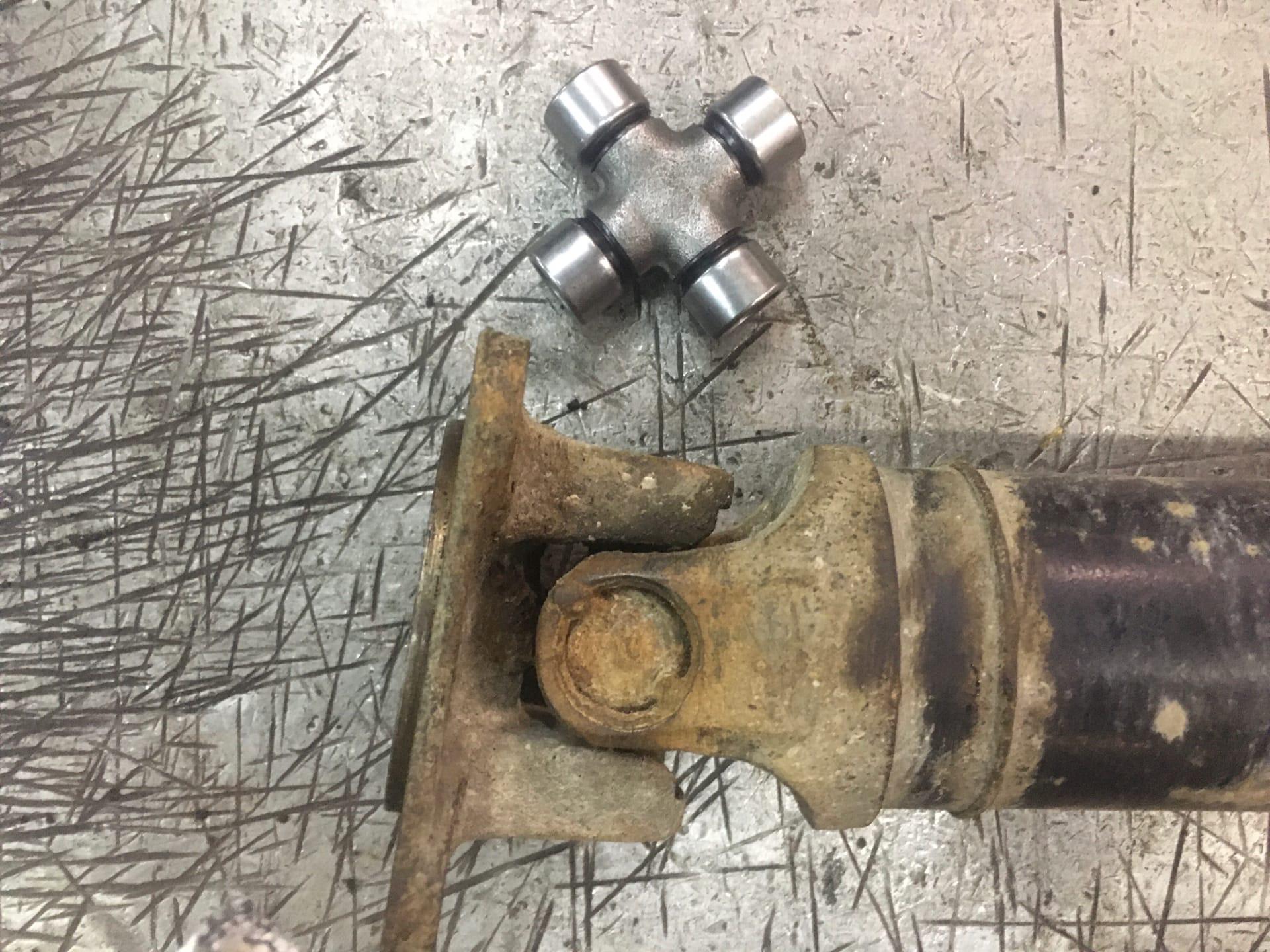 Восстановление кардана Renault Duster после гаражного ремонта