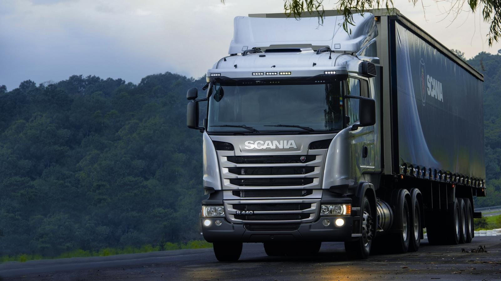 Scania. Ремонт 2-х опорного карданного вала