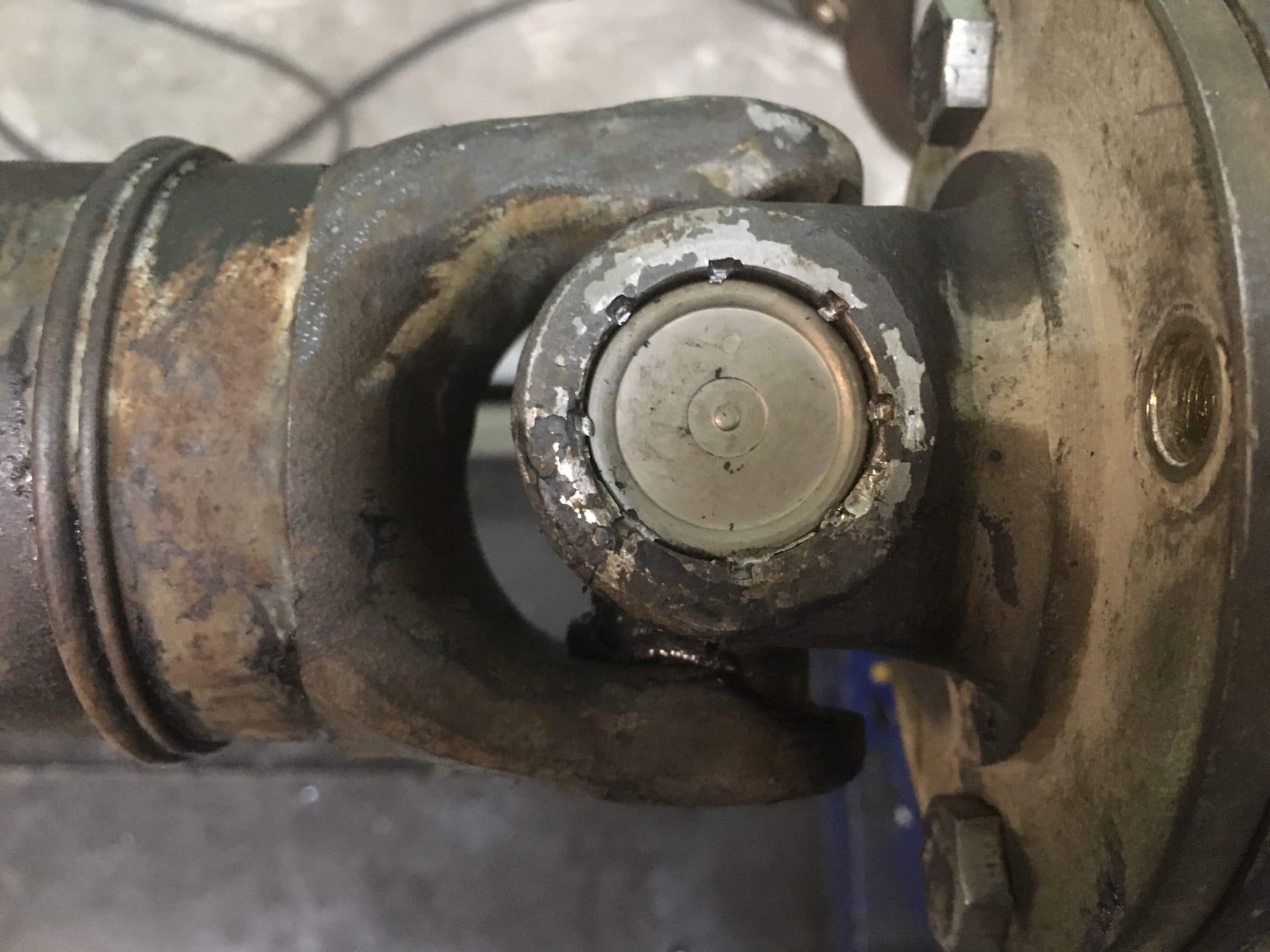 Ремонт 4-х опорного карданного вала Mercedes-Benz Sprinter