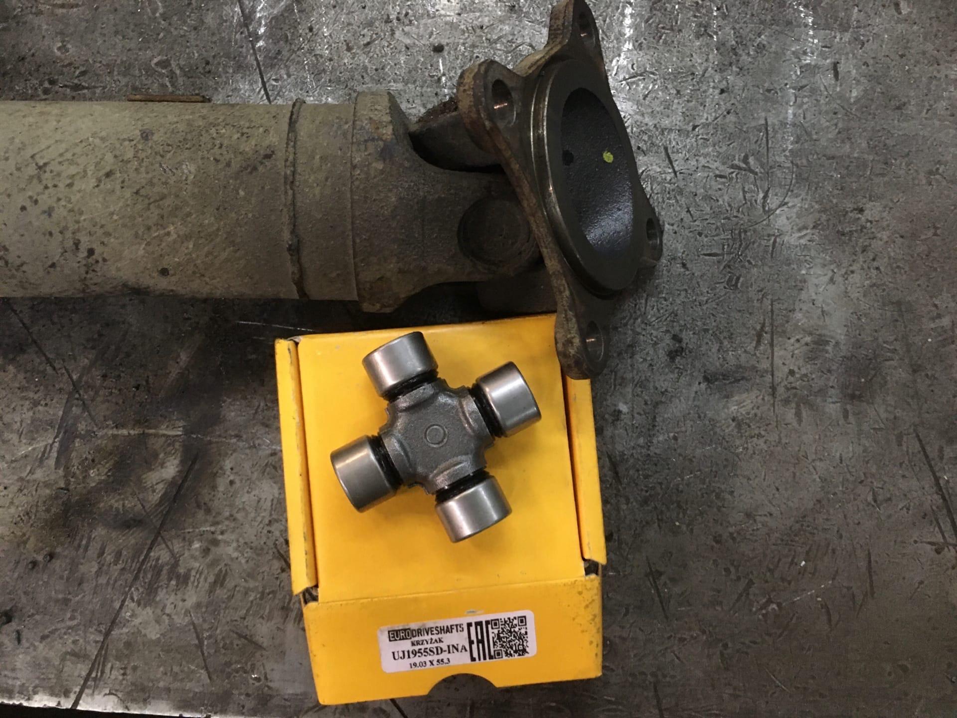 Ремонт 3-х опорного кардана Renault Duster