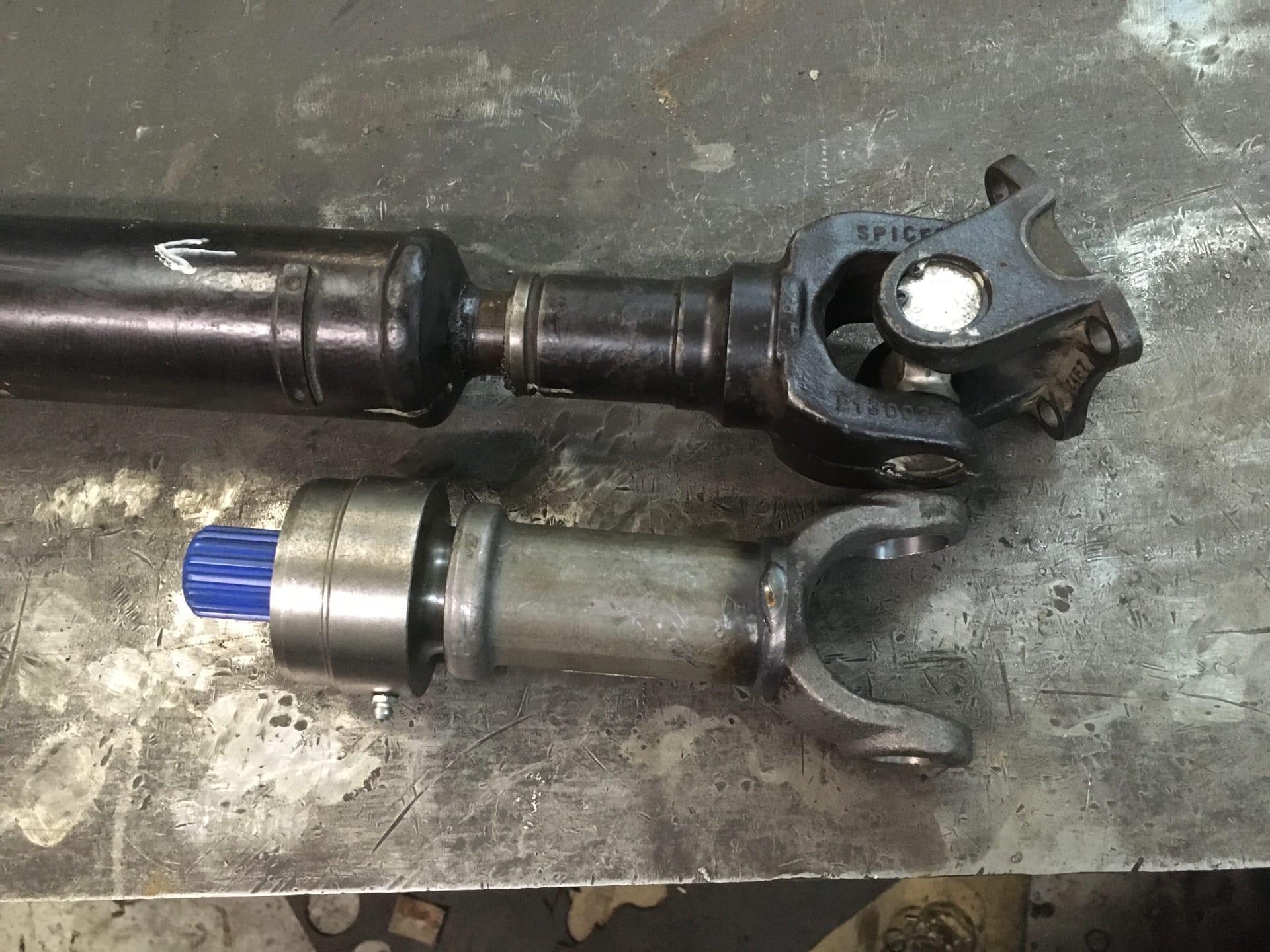 Ремонт 2-х опорного карданного вала Nissan Pathfinder