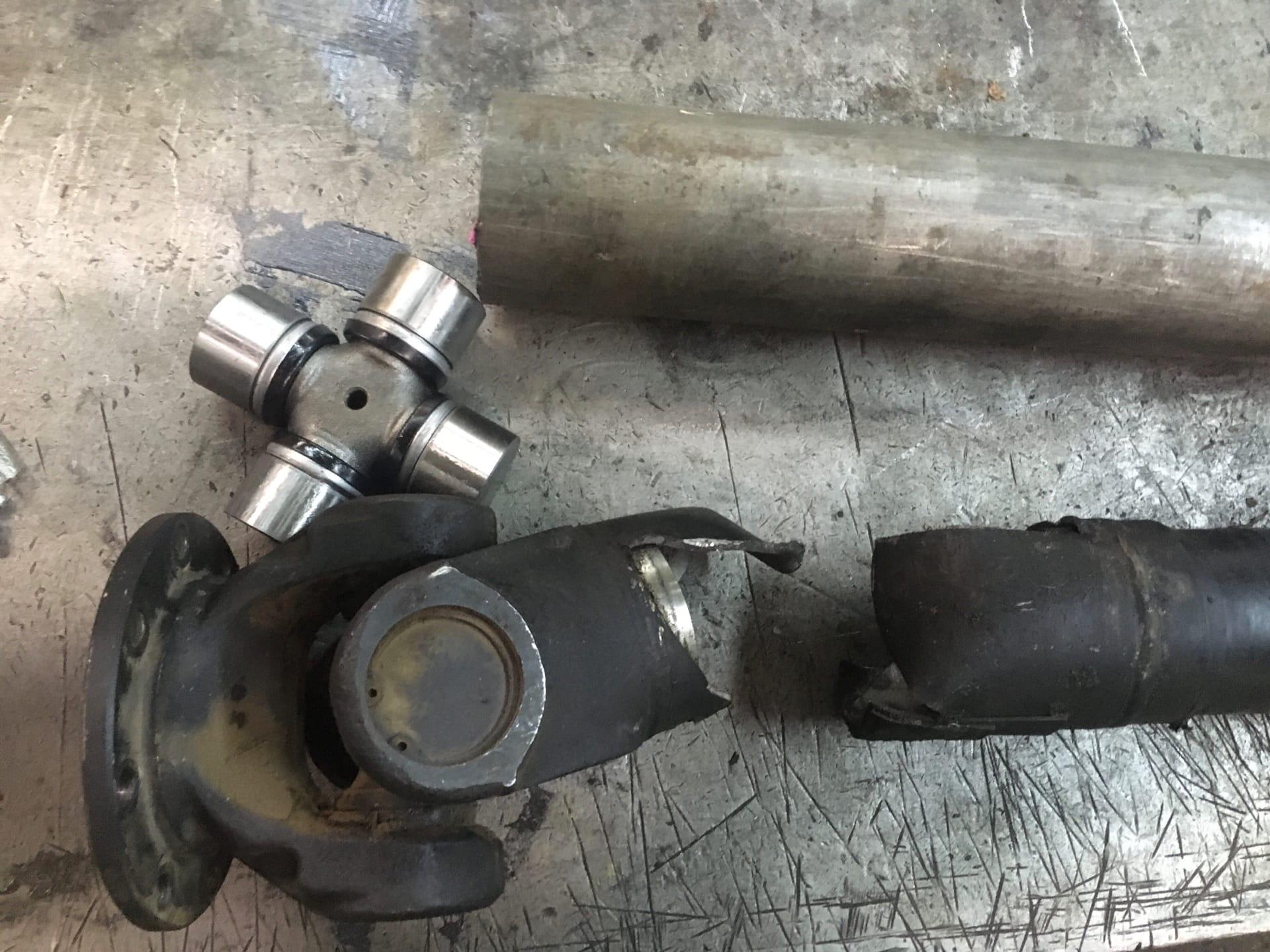 Ремонт 2-х опорного карданного вала трактора Кировец К-424