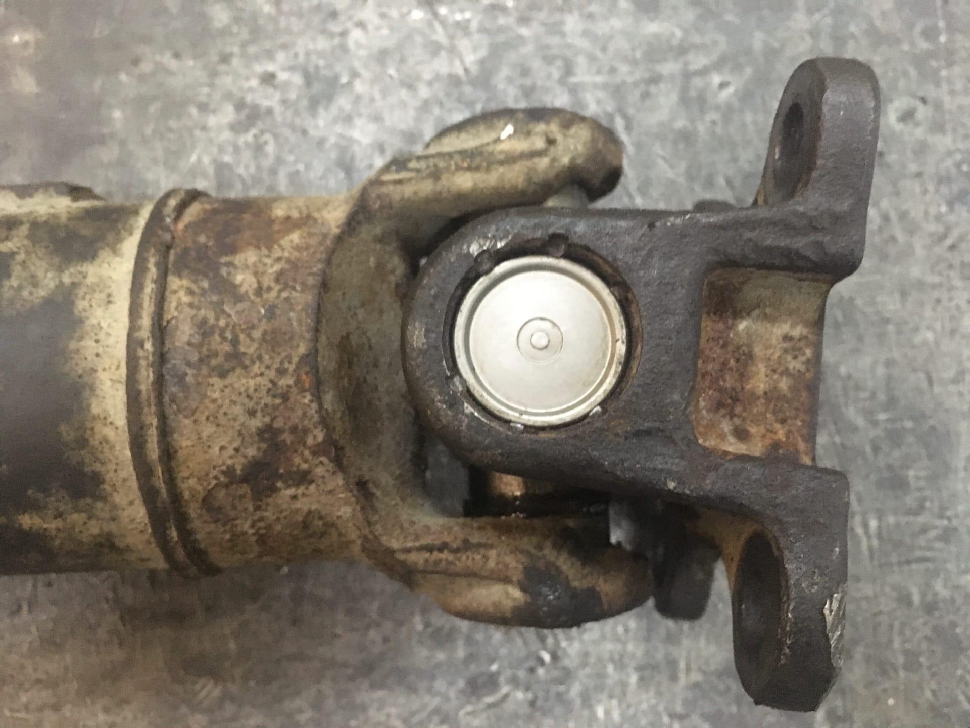 Ремонт 3-х опорного карданного вала Chevrolet Captiva