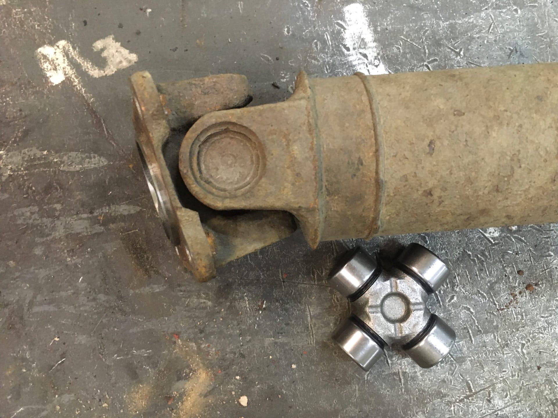 Ремонт 3-х опорного карданного вала автомобиля Nissan X-Trail
