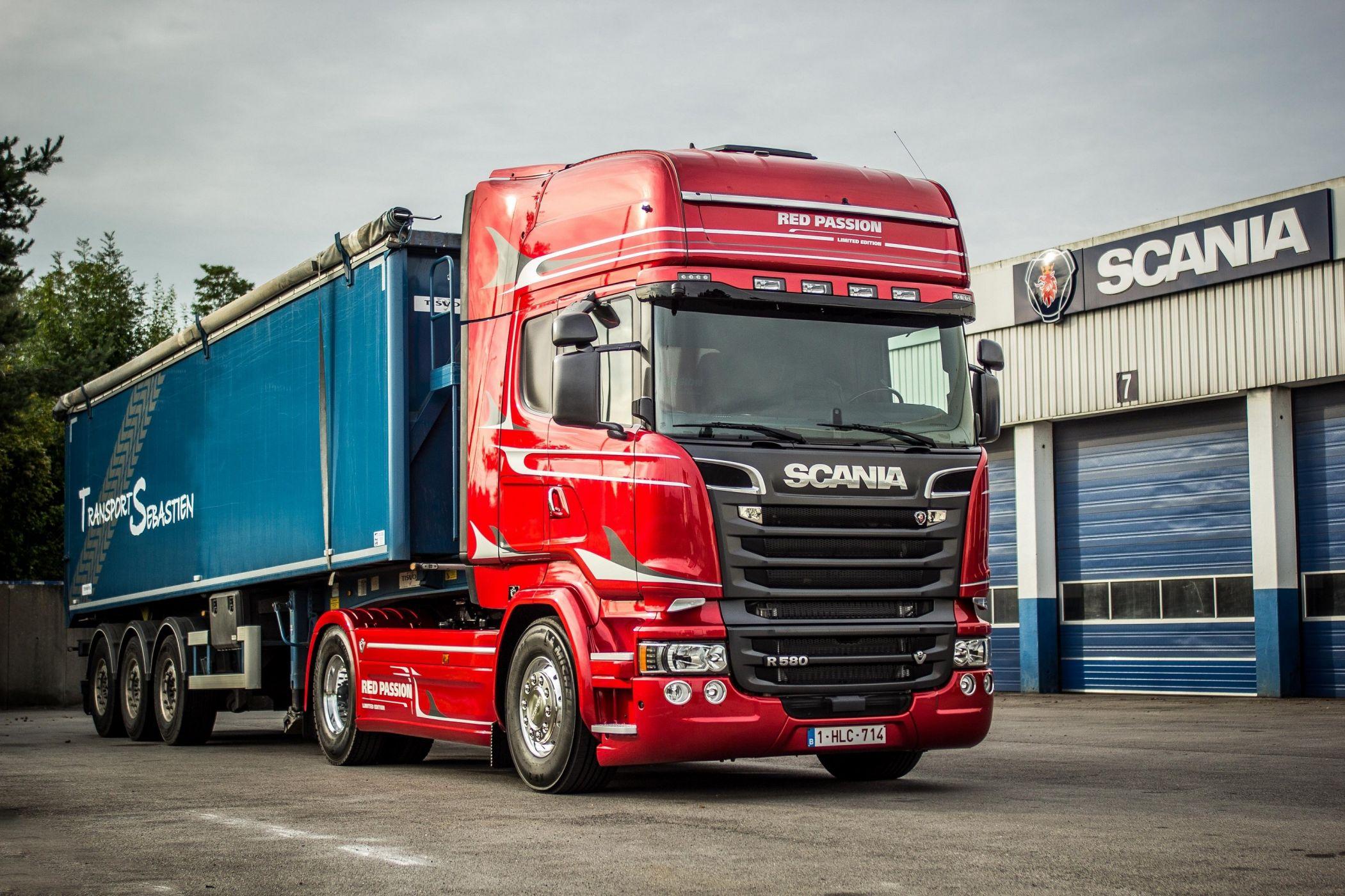 Замена крестовин и шлицевого соединения кардана Scania