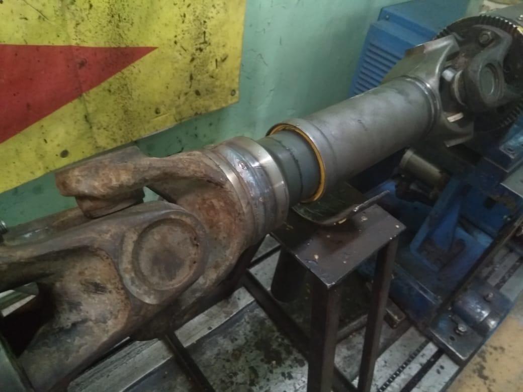 Ремонт 2-х опорного карданного вала MAN