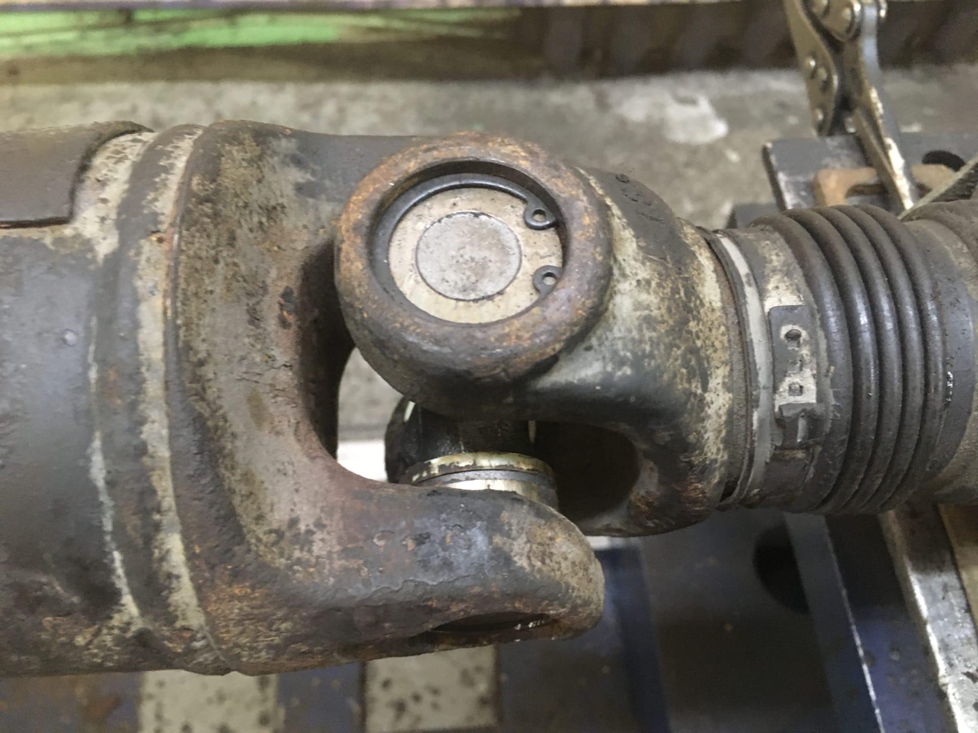 Ремонт кардана Mercedes-Benz Sprinter ранее переделанного под стопорные кольца