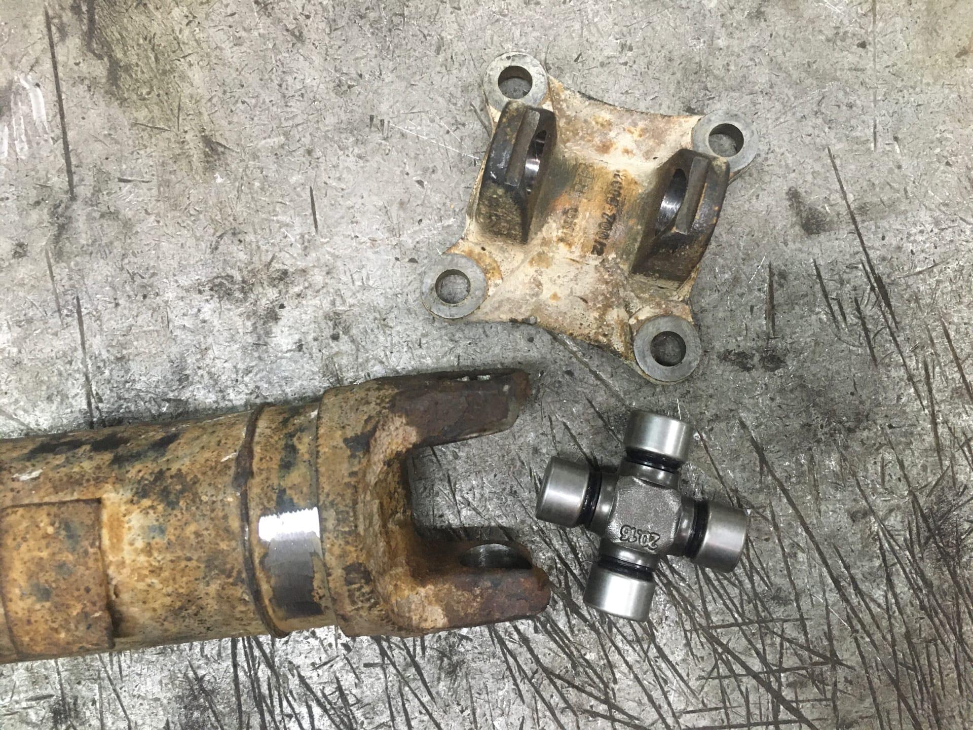 Ремонт и балансировка 3-х опорного кардана Renault Duster