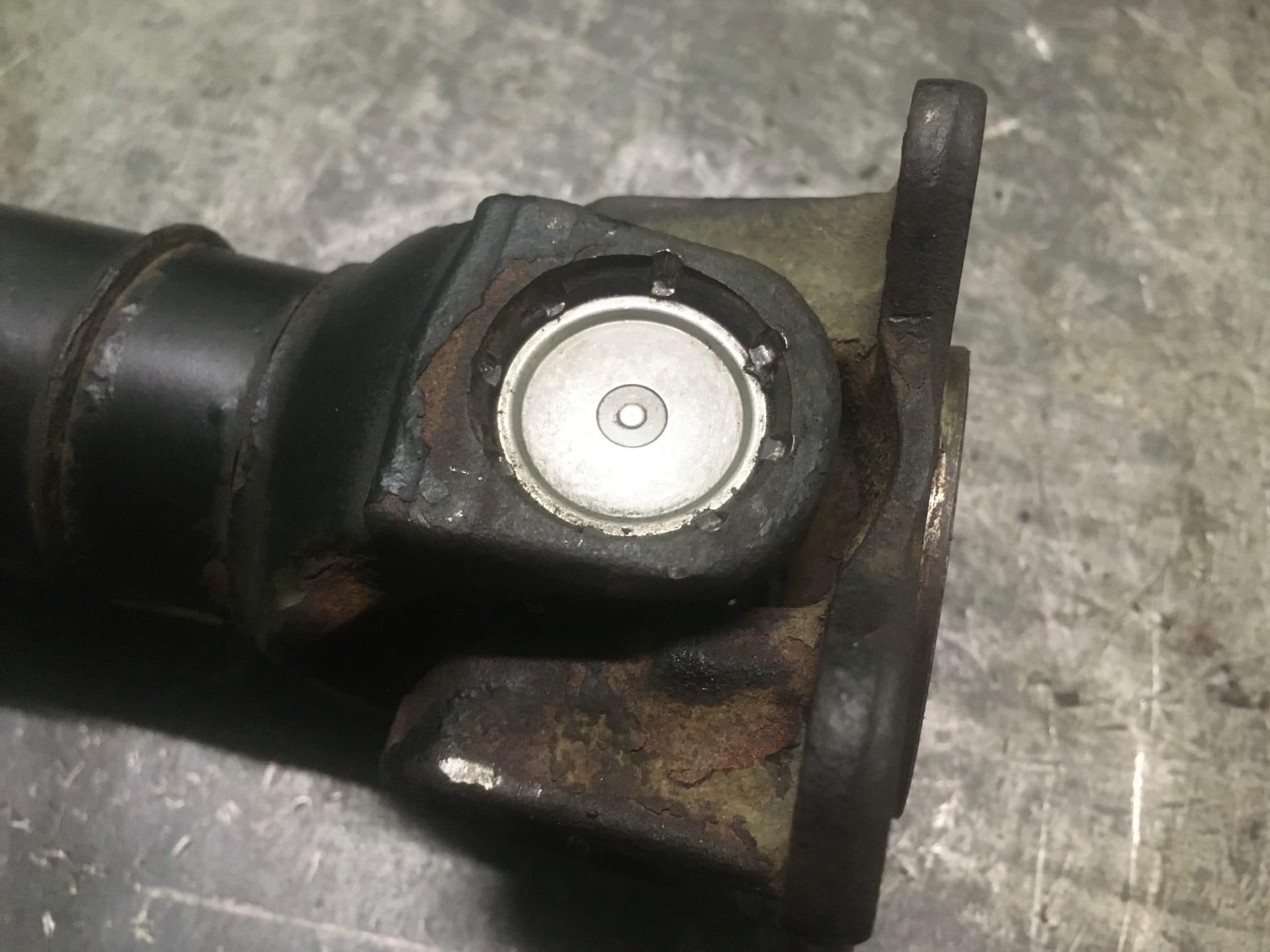 Ремонт 2-х опорного карданного вала BMW 7