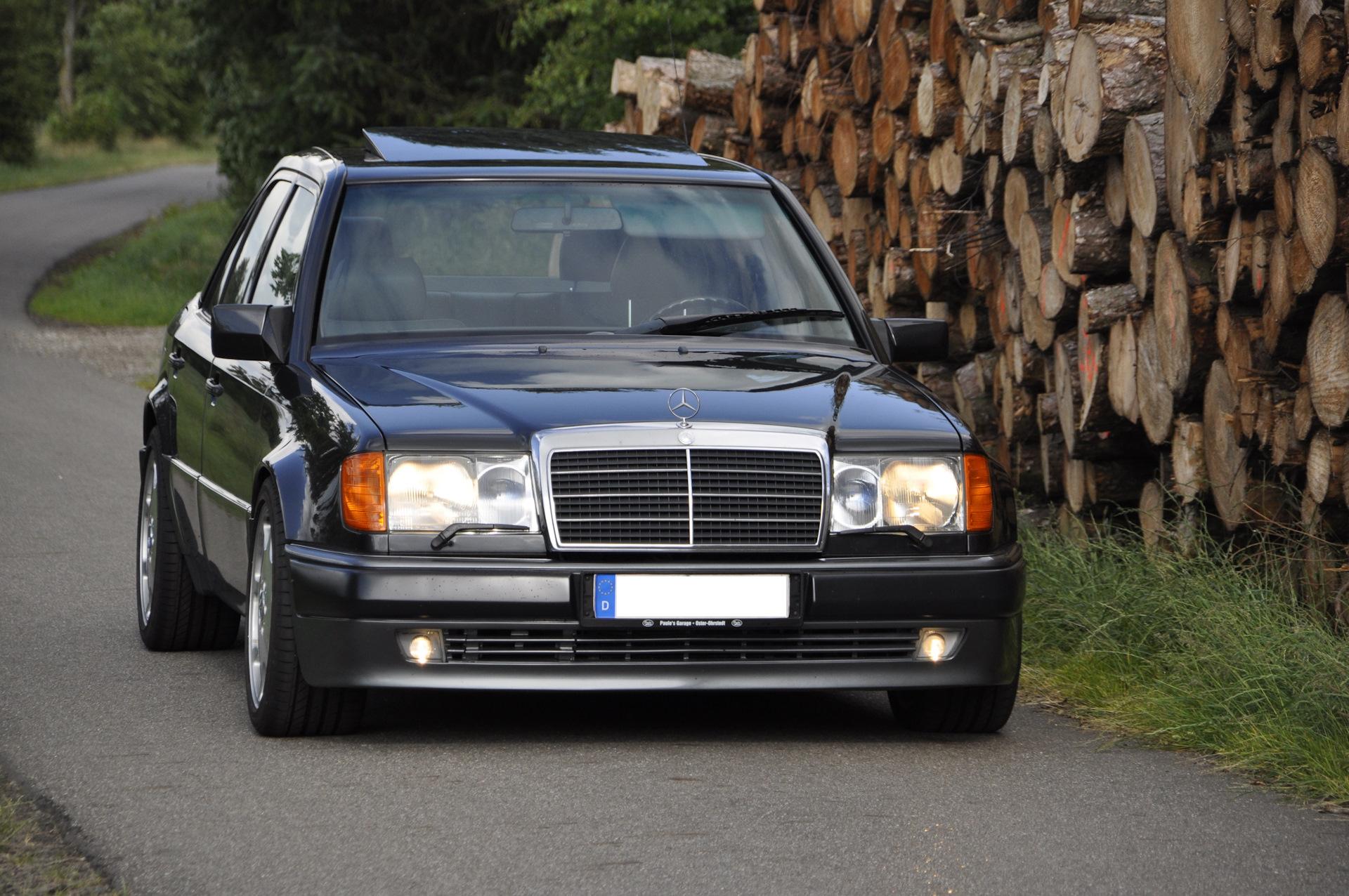 Замена подвесного подшипника Мерседес W124