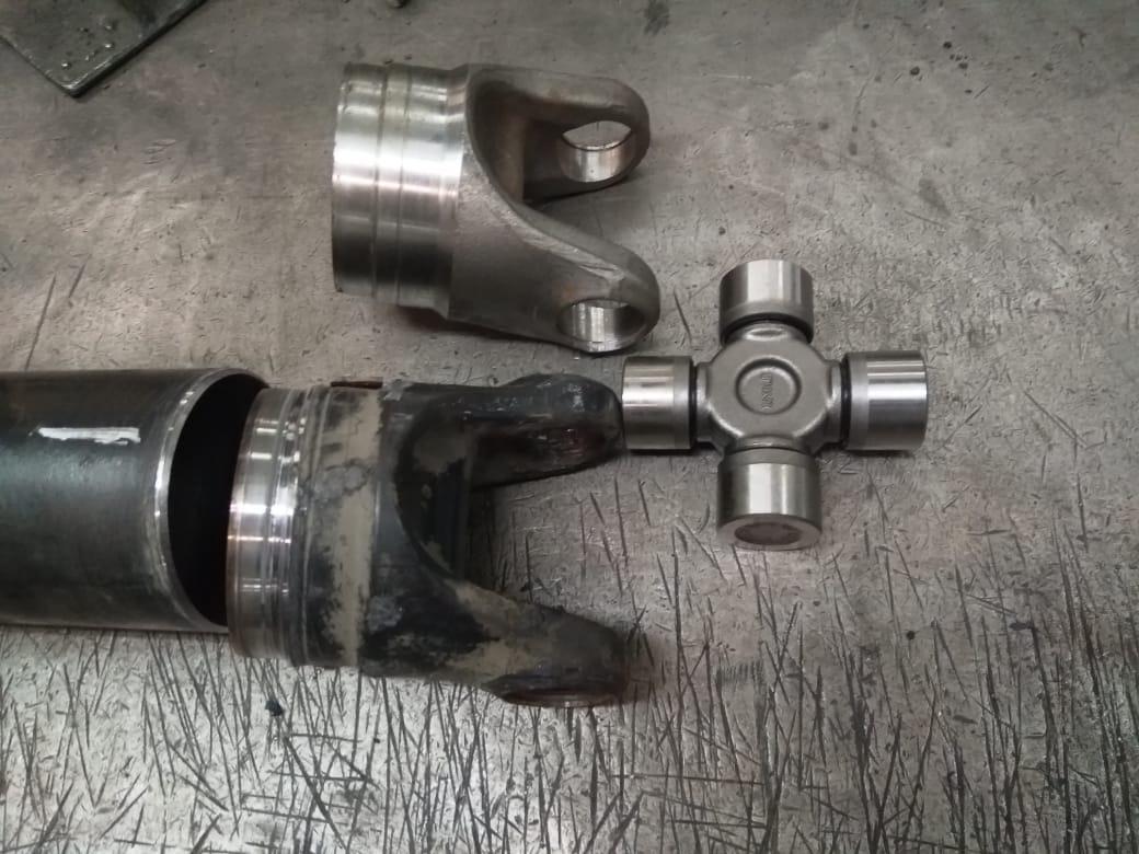 Ремонт 3-х опорного карданного вала MAN TGL
