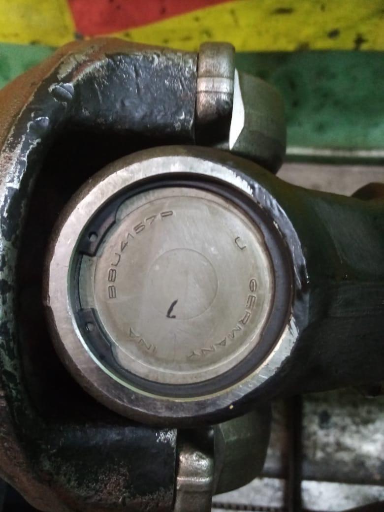 Ремонт 2-х опорного межосевого карданного вала Scania