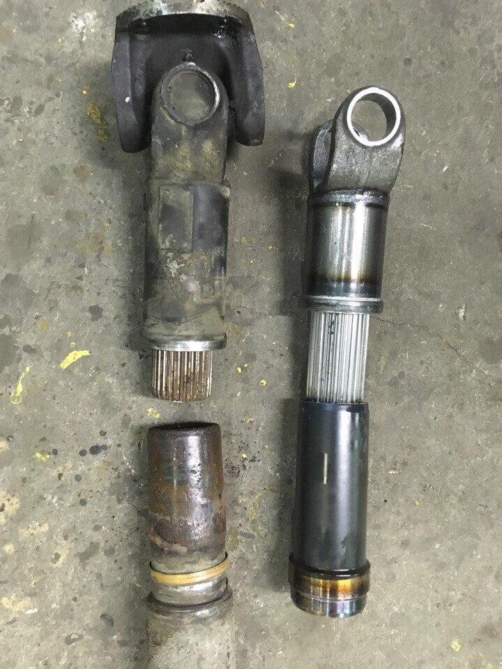 Ремонт 3-х опорного карданного вала МАЗ