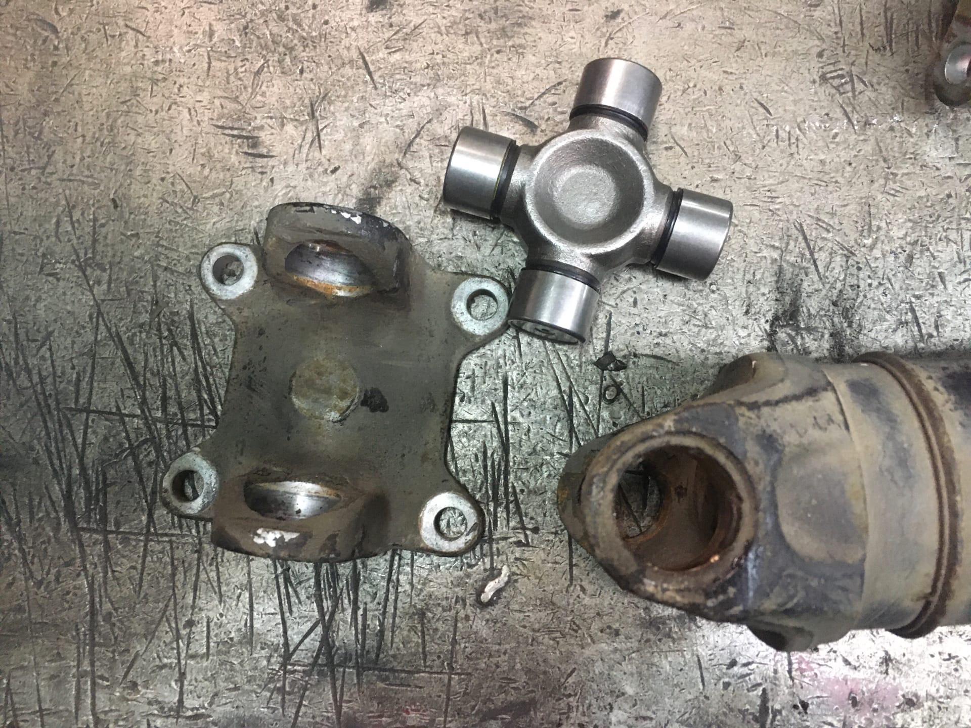 Ремонт 4-х опорного кардана Volkswagen Crafter