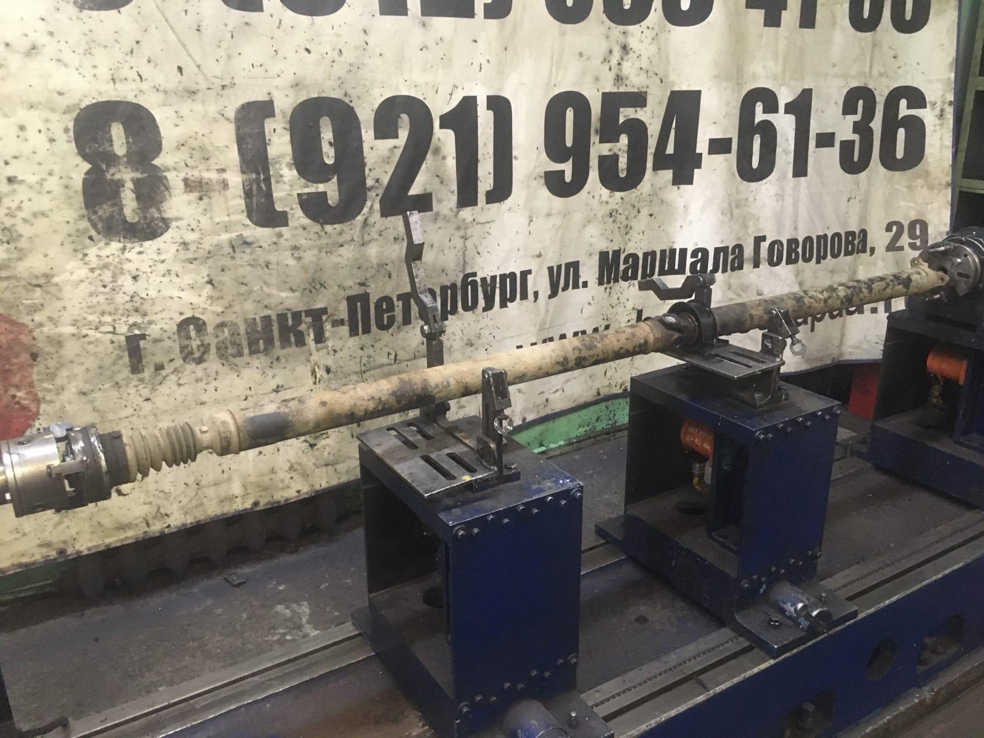 Ремонт 3-х опорного карданного вала SsangYong Korando